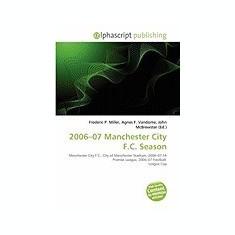 2006-07 Manchester City F.C. Season - Carte in engleza