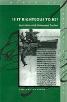 Is It Righteous to Be?: Interviews with Emmanuel Levinas