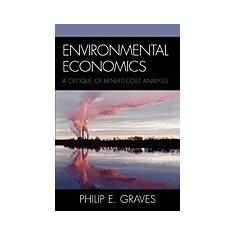 Environmental Economics: A Benefit-Cost Analysis Approach - Carte in engleza