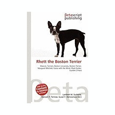 Rhett the Boston Terrier - Carte in engleza
