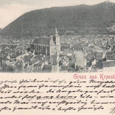 BRASOV, SALUTARI DIN BRASOV, CIRCULATA DEC.*900 - Carte Postala Transilvania pana la 1904, Printata