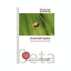 Great Raft Spider - Carte in engleza