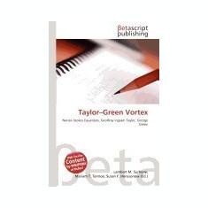Taylor-Green Vortex - Carte in engleza
