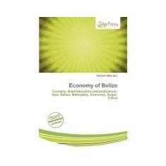 Economy of Belize - Carte in engleza