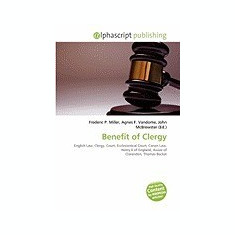Benefit of Clergy - Carte in engleza