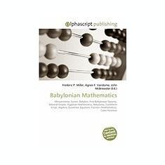 Babylonian Mathematics - Carte in engleza