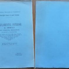 Regulamentul interior al oborului din Comuna Bazargic, Judetul Caliacra, 1915 - Carte Editie princeps