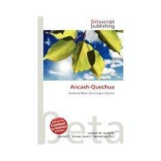Ancash-Quechua - Carte in engleza