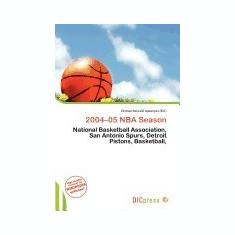 2004-05 NBA Season - Carte in engleza