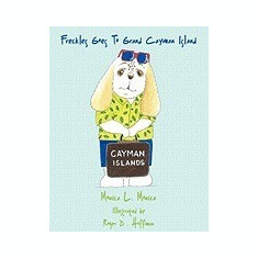 Freckles Goes to Grand Cayman Island - Carte in engleza