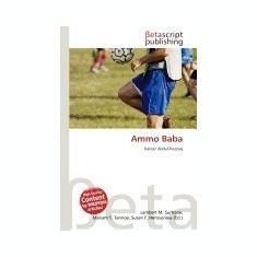 Ammo Baba - Carte in engleza