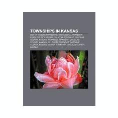 Townships in Kansas: List of Kansas Townships, Kiowa Rural Township, Kiowa County, Kansas, Palmyra Township, Douglas County, Kansas - Carte in engleza