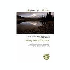 Henry David Thoreau - Carte in engleza