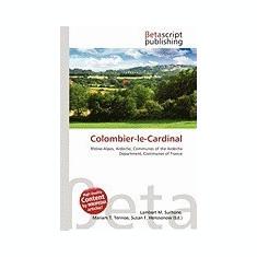 Colombier-Le-Cardinal - Carte in engleza