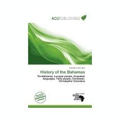 History of the Bahamas - Carte in engleza