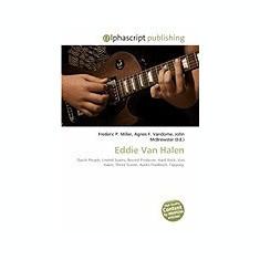 Eddie Van Halen - Carte in engleza