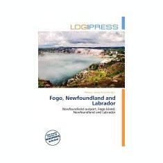 Fogo, Newfoundland and Labrador - Carte in engleza