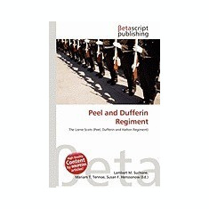 Peel and Dufferin Regiment - Carte in engleza