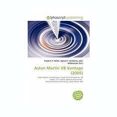 Aston Martin V8 Vantage (2005) - Carte in engleza