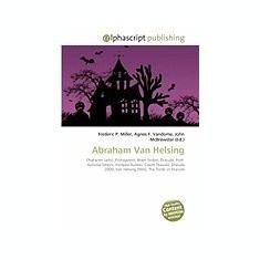 Abraham Van Helsing - Carte in engleza