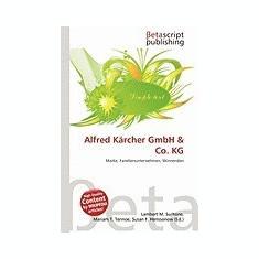 Alfred Karcher Gmbh & Co. Kg - Carte in engleza