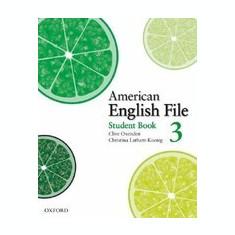 American English File, Book 3 - Carte in engleza
