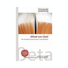 Alfred Van Cleef - Carte in engleza