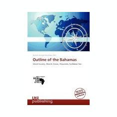 Outline of the Bahamas - Carte in engleza