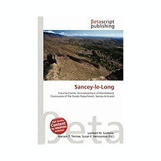Sancey-Le-Long - Carte in engleza