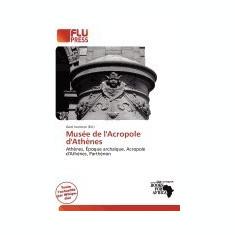 Mus E de L'Acropole D'Ath Nes - Carte in engleza