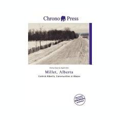 Millet, Alberta - Carte in engleza