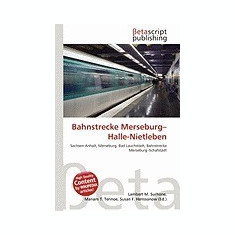 Bahnstrecke Merseburg-Halle-Nietleben