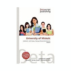 University of Miskolc - Carte in engleza