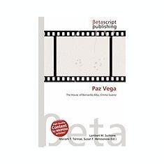 Paz Vega - Carte in engleza