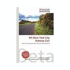 R9 (New York City Subway Car) - Carte in engleza