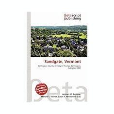Sandgate, Vermont - Carte in engleza
