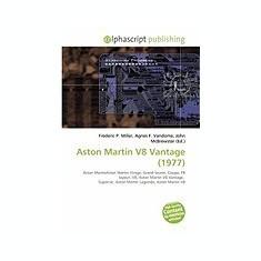 Aston Martin V8 Vantage (1977) - Carte in engleza