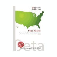Utica, Kansas - Carte in engleza