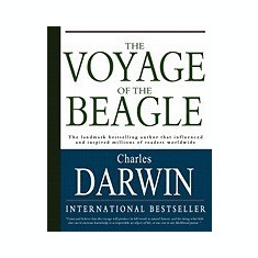 The Voyage of the Beagle - Carte in engleza