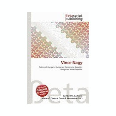 Vince Nagy - Carte in engleza