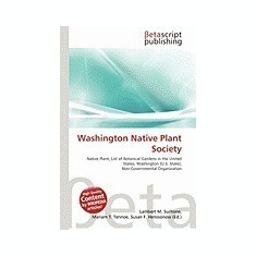 Washington Native Plant Society - Carte in engleza