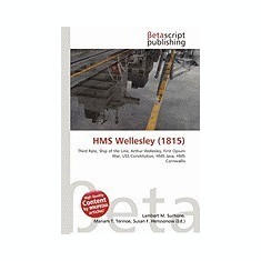 HMS Wellesley (1815) - Carte in engleza