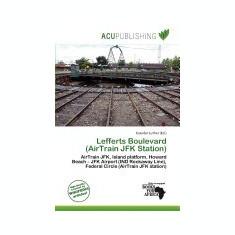 Lefferts Boulevard (Airtrain JFK Station) - Carte in engleza