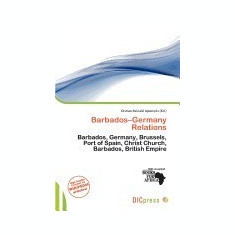 Barbados-Germany Relations - Carte in engleza