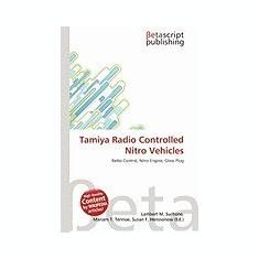 Tamiya Radio Controlled Nitro Vehicles - Carte in engleza