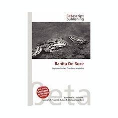 Ranita de Roze - Carte in engleza