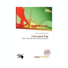 Lime-Speck Pug - Carte in engleza