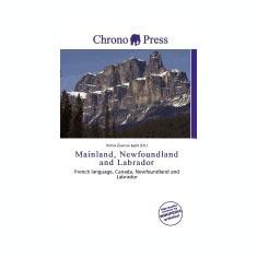Mainland, Newfoundland and Labrador - Carte in engleza