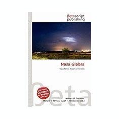 NASA Glabra - Carte in engleza