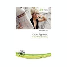 Cape Agulhas - Carte in engleza